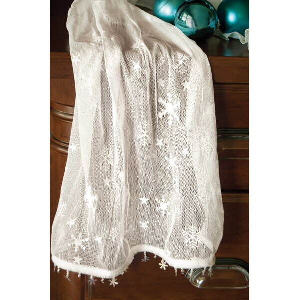Snow Flake Table Runner by The Holiday Aisle