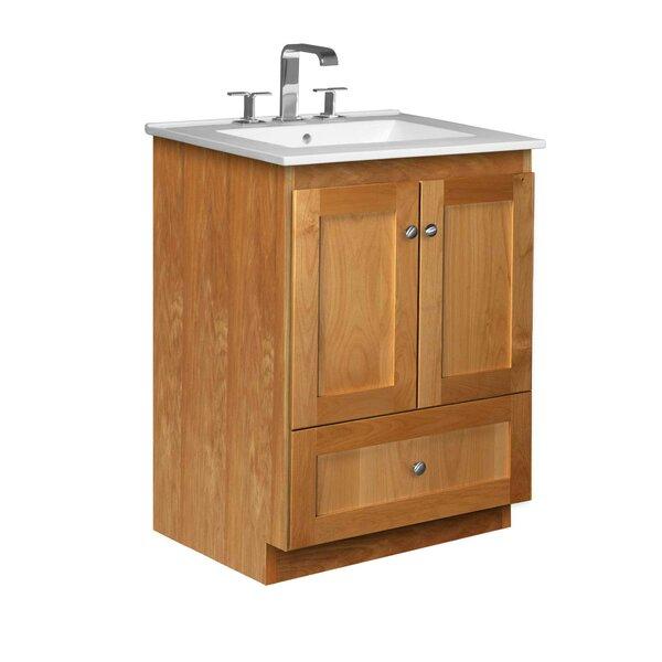Simplicity 25 Single Bathroom Vanity Set by Strasser Woodenworks