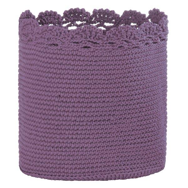 Mode Crochet Plastic Basket by Heritage Lace