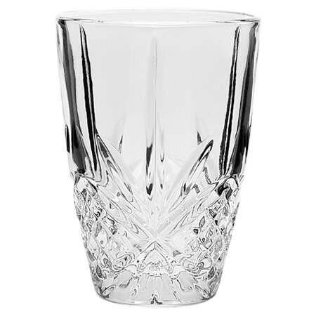 Dublin Crystal Juice Glass (Set of 4) by Godinger Silver Art Co