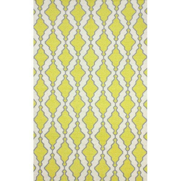 Zem Yellow Melonie Rug by nuLOOM