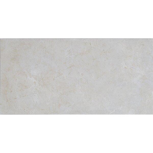Florentine 12 x 24 Ceramic Field Tile in Argento b