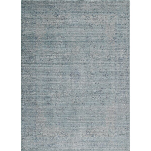 Lake Blue Area Rug by World Menagerie