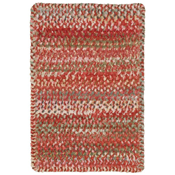 Wilhelmine Orange Area Rug by August Grove