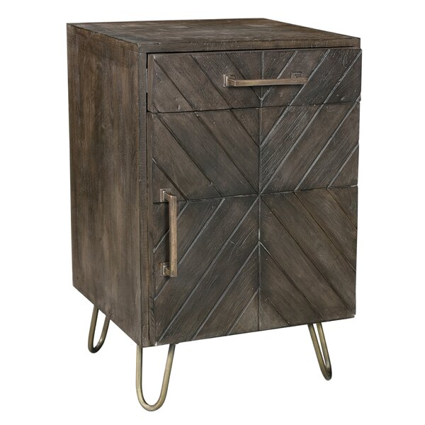 Pelletier End Table with Storage by 17 Stories