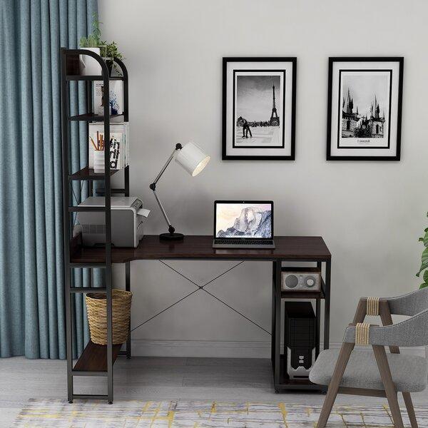 Arath L-Shape Desk with Hutch