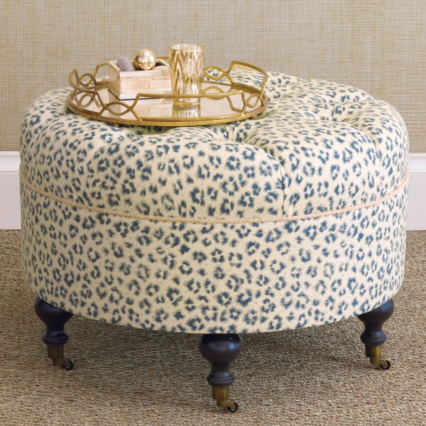 Emory Tufted Cocktail Ottoman By Eastern Accents