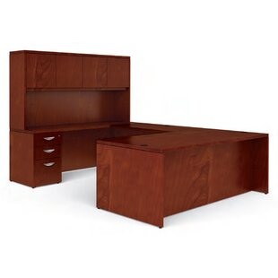 Ventnor U-Shape Executive Desk with Hutch