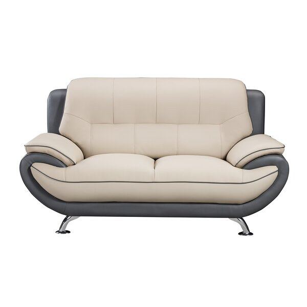 Jamelia 69 Inches Pillow Top Arms Love Seat By Orren Ellis