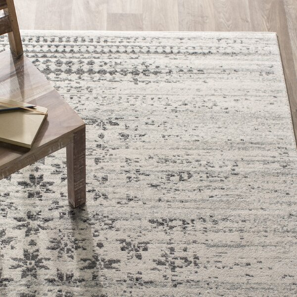 Melvin Ivory Area Rug by Langley Street