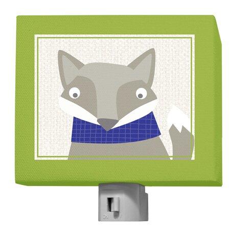 Happy Fox by Vicky Barone Night Light by Oopsy Daisy