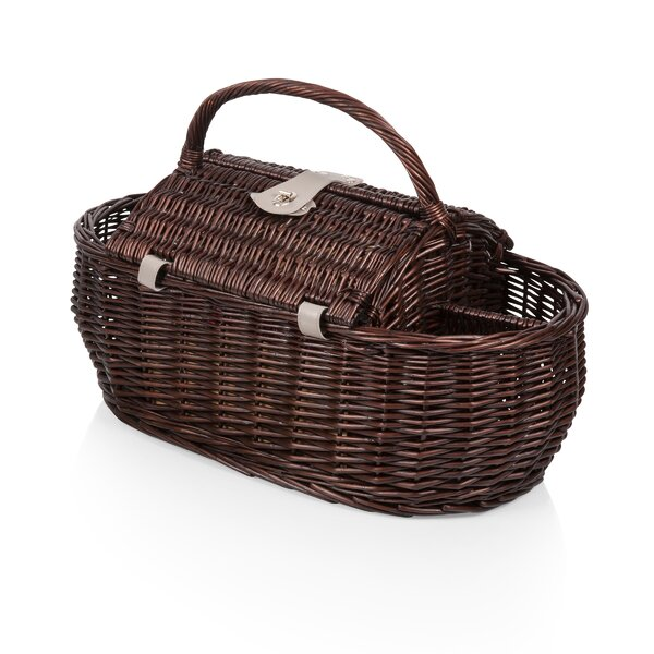 Gondola Picnic Basket by Highland Dunes