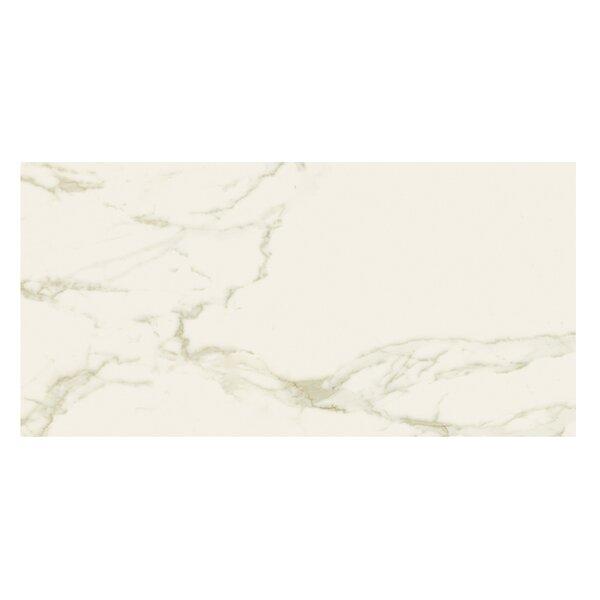Marmi Matte 12 x 24 Porcelain Field Tile in Staturio Gold by Casa Classica
