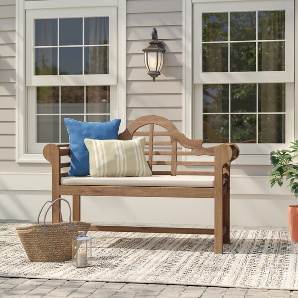 Wallie Teak Garden Bench by Birch Lane™ Heritage