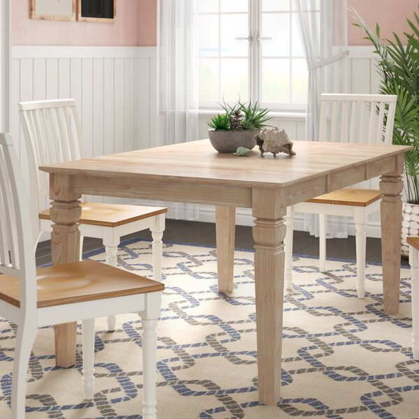 Adams Extendable Dining Table by Rosecliff Heights