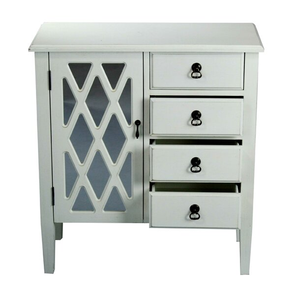 Lewes 1 Door Accent Cabinet by Highland Dunes