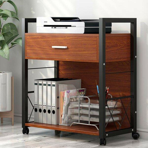 Willets 1-Drawer Mobile Vertical Filing Cabinet