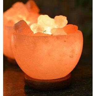 Read Reviews Hawthorne Natural Himalayan Rock Fire Bowl 6.5 Salt Lamp By Bloomsbury Market