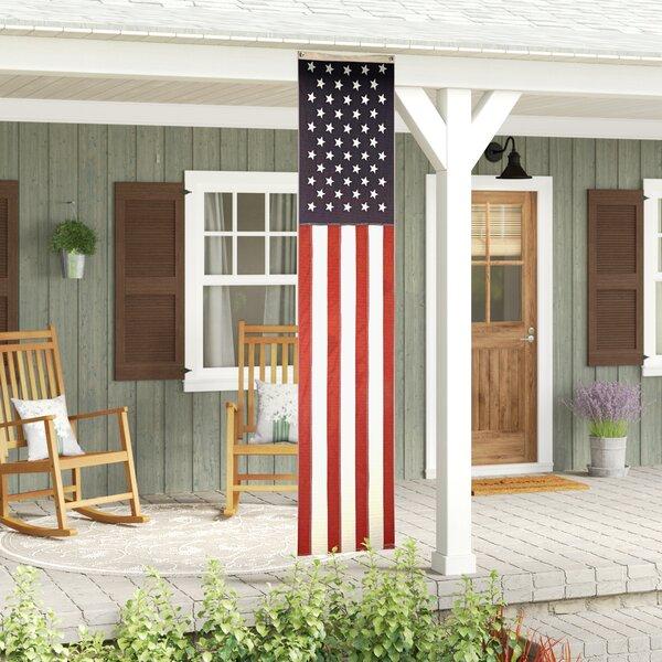 Fawcett USA 2-Sided Vertical Flag by August Grove