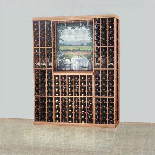 Florez 54 Bottle Floor Wine Bottle and Glass Rack by Symple Stuff Symple Stuff