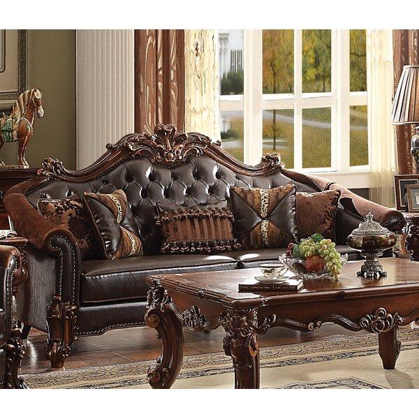 Bordadora Sofa with Pillow by Astoria Grand