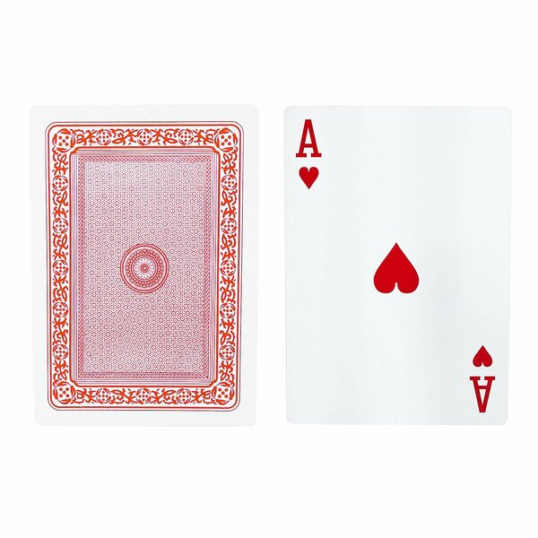 Giant Jumbo Extra Large Poker Playing Cards by Fantastic