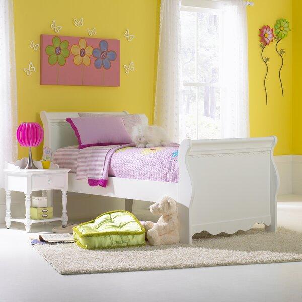 Portia Sleigh Bed by Viv + Rae