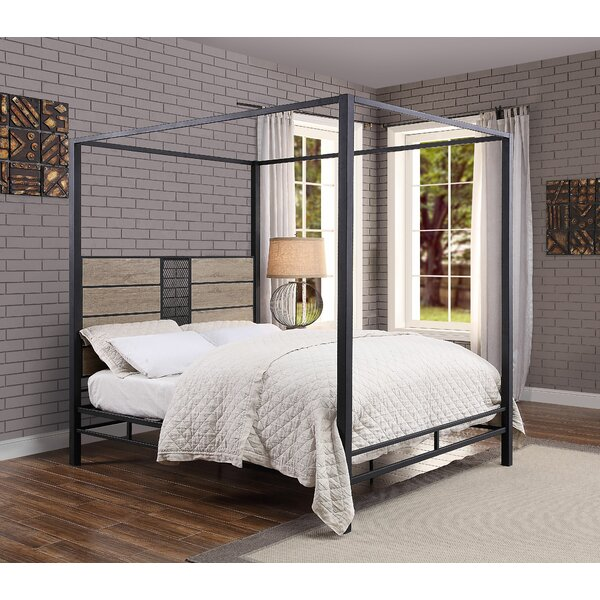 Keltner Queen Canopy Bed by Williston Forge