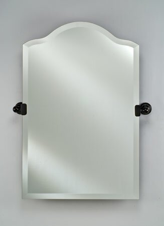 Lux Frameless Top Mirror by Mistana