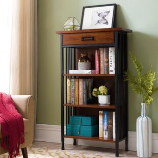 Great Price Woodward Height Standard Bookcase By Loon Peak