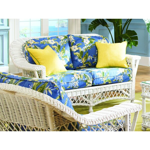 Loveseat by Spice Islands Wicker