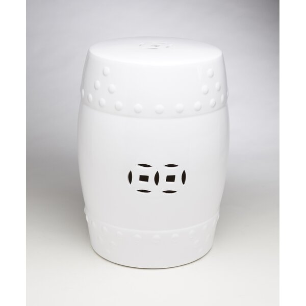 Ceramic Drum Stool by AA Importing