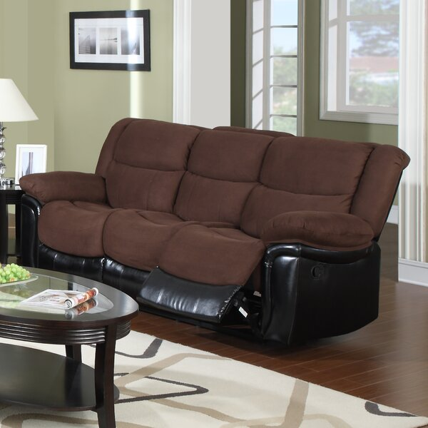 Warner Reclining Sofa By Flair