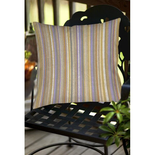 Plum Scene 2 Indoor/Outdoor Throw Pillow by Manual Woodworkers & Weavers