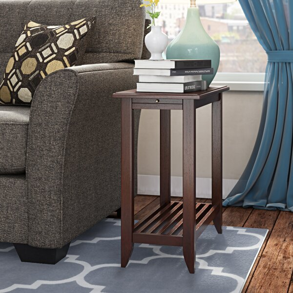Parkhur End Table With Storage By Alcott Hill