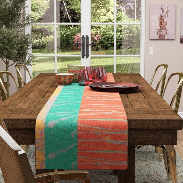 Nina May Desert Splatter Table Runner by East Urban Home