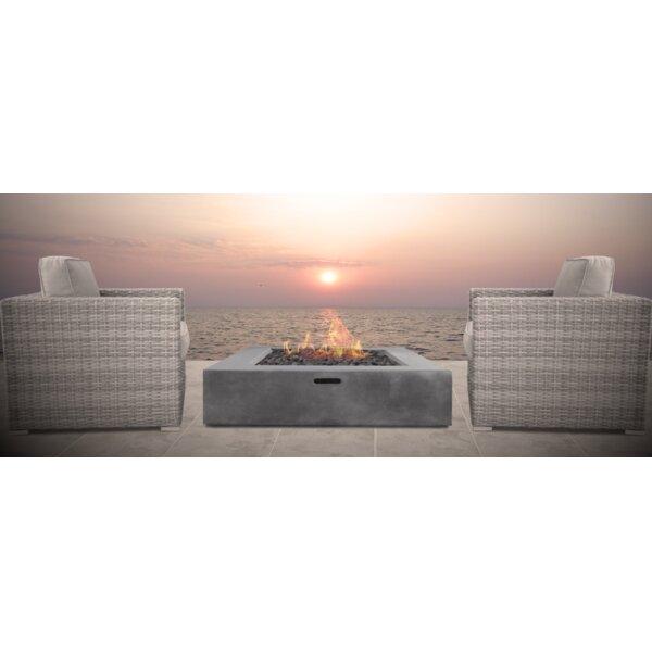 Defino Fire Pit 3 Piece Conversation Set by Orren Ellis