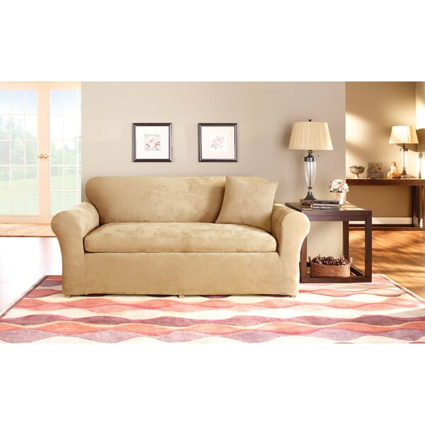 Box Cushion Sofa Slipcover Set by Sure Fit