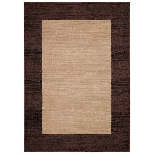 Sanak Light Tan Indoor/Outdoor Area Rug by Loon Peak