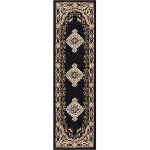 Compare Bungalow Black Area Rug ByCharlton Home