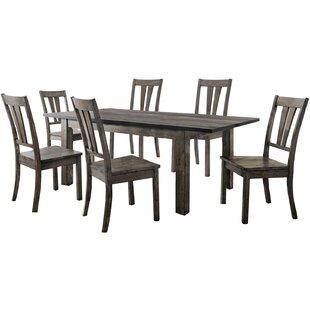 Wimbish 7 Piece Wood Dining Set