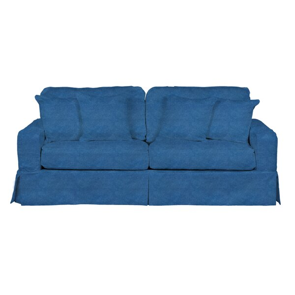 Pettaway T-Cushion Sofa Slipcover By Breakwater Bay