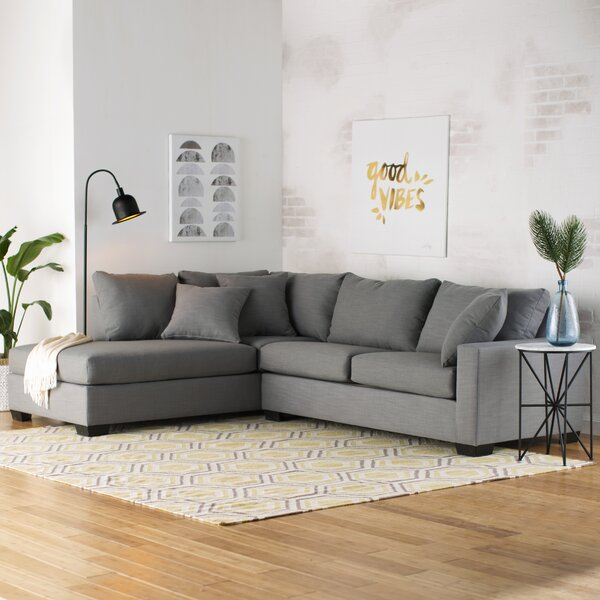 Best #1 Loukianos Sectional By Mercury Row Wonderful