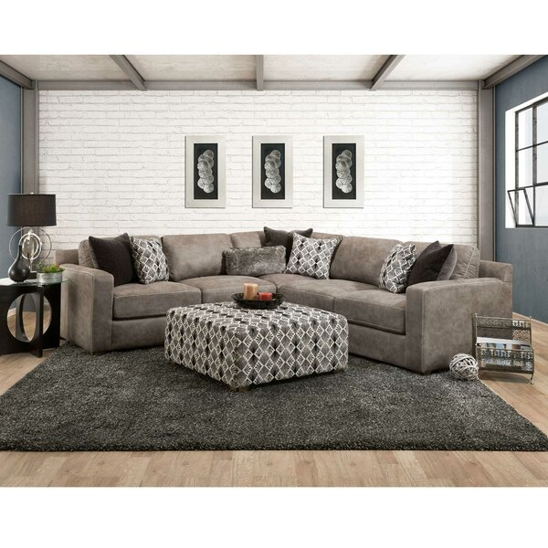 Willa Symmetrical Sectional by Union Rustic
