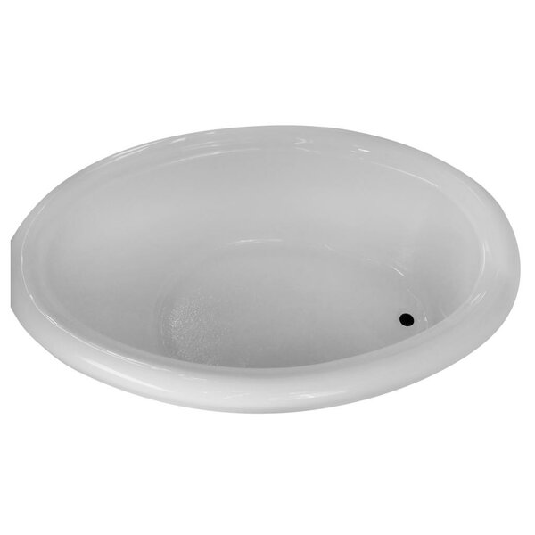 Hygienic Air Massage 72 x 48 Bathtub by Carver Tubs