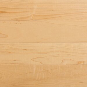 Specialty 3-1/4 Solid Maple Hardwood Flooring in Natural by Somerset Floors
