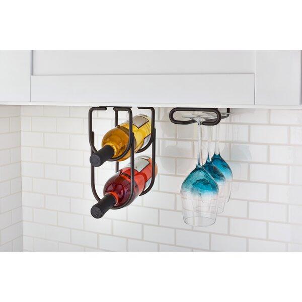 2 Bottle Hanging Wine Rack by Rev-A-Shelf