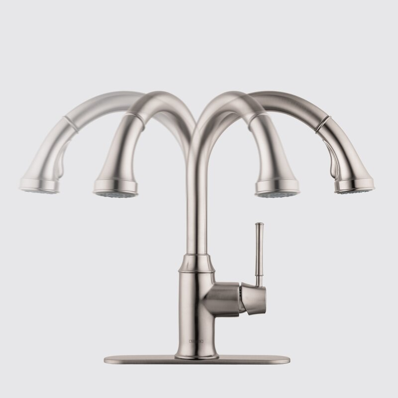 Hansgrohe Talis C Pull Down Single Handle Kitchen Faucet