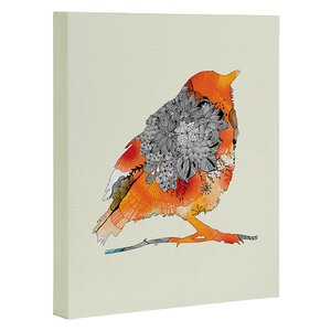 'Bird' Graphic Art on Wrapped Canvas by East Urban Home