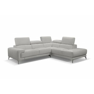 Mcclary Leather Sectional
